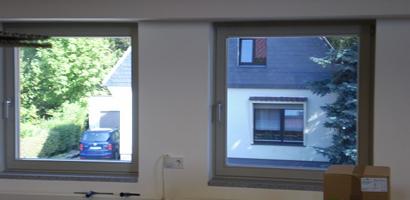 Sonnenschutzfolie Bürogebäude