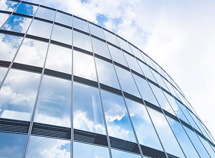 Fensterfolie Gebäude