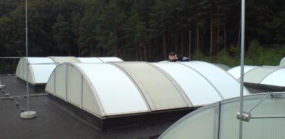 Sonnenschutzlack für Dachkuppeln