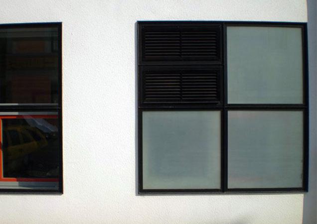 Sichtschutzfolie matt-weiss