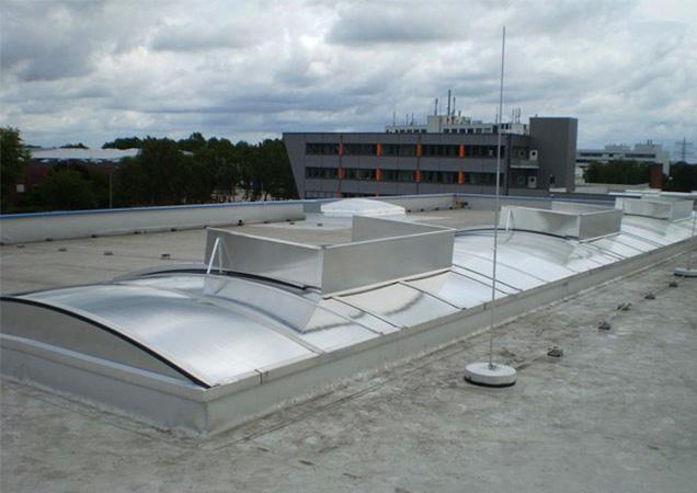 Sonnenschutzfolie für Dachkuppeln